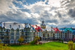The unique and wonderful Mont-Tremblant resort village, Quebec, Canada