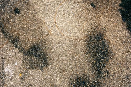 Fotobehang Betonbehang Concrete pedestrian walkway texture