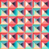 Geometric triangles seamless pattern