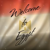 welcome Egypt background - 175173055