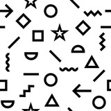 grunge hipster pattern - 175175056