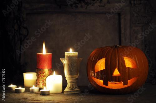halloween still life Poster