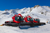 Snowplow at Mountains ski resort Bad Hofgastein Austria - 175183659