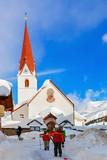Mountain ski resort Obergurgl Austria - 175183688