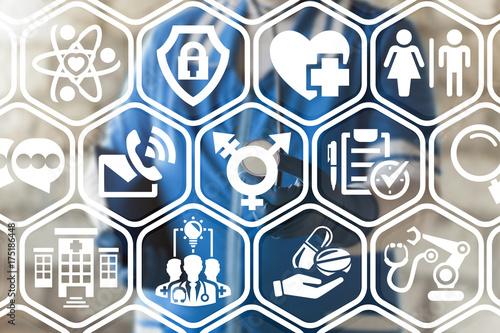 Transgender Healthcare concept Poster