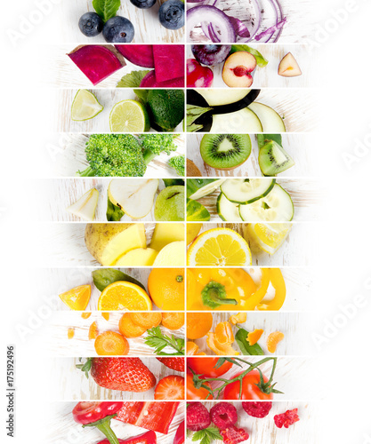Fruit and Vegetable Mix - 175192496
