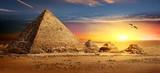 Pyramids at sunset - 175201016