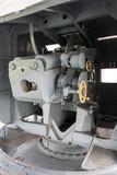cannon on the battleship
