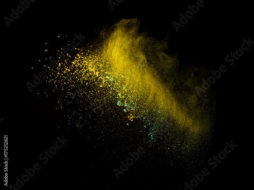 Sharp high speed smoke and powder