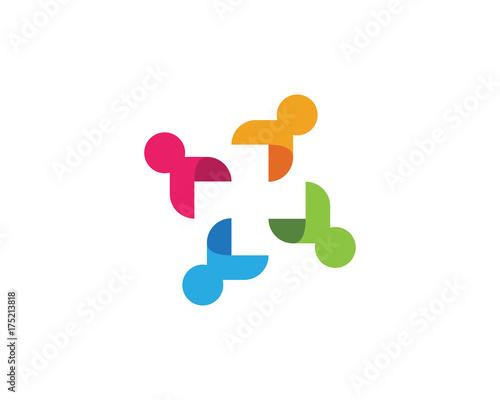 Fridge magnet Adoption and community care Logo