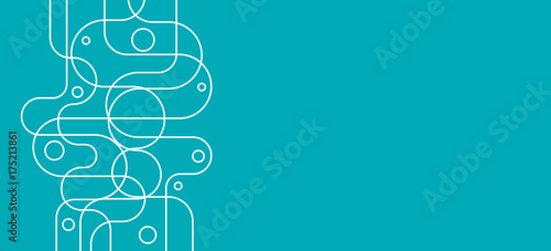 Fridge magnet fond abstrait