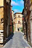 View of Civita Castellana. Lazio. Italy - 175226663
