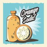 Juice bottle of drink beverage and fresh food theme Vector illustration - 175231263