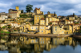 Lovely medieval village from south of France - 175236838