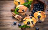 Blueberry muffins  - 175247269