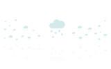 Reflektierende Symbole weiß - Schnee Wolke - 175255430