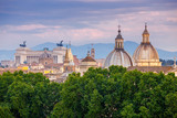 Rome. Aerial view of the city. - 175258495