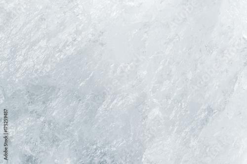 White texture of mountain crystal. Macro photo.