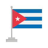 National flag of Cuba Vector Illustration - 175263066