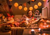 dreams in Halloween nigh - 175272290