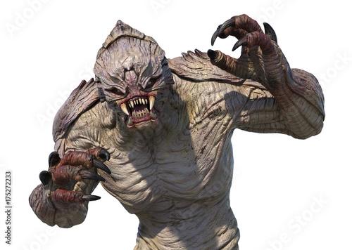 Alien Monster Attacking