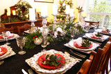Christmas dining table - 175274643