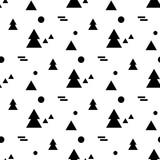 Geometric seamless pattern in Scandinavian style - 175290415