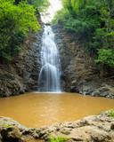 Montezuma waterfall in nature of  Costa Rica - 175293043