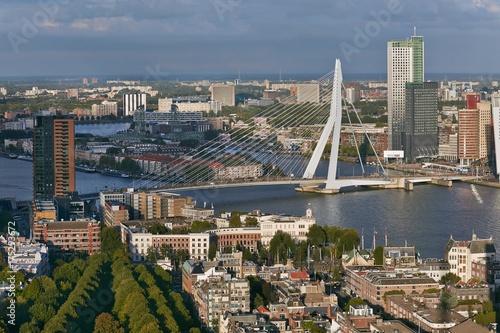 Fotobehang Rotterdam Rotterdam panoramic view