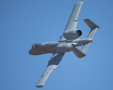 A-10 Thunderbolt II in a  tight and close turn - 175302027