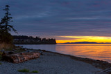 Sunset at Birch Bay State Park - 175304632