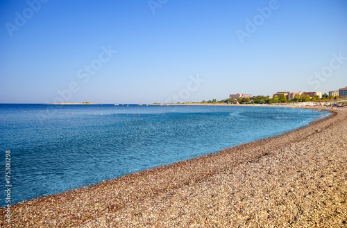 Fotobehang Zomer lagoon beach tropical background