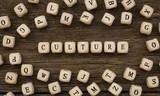 Word CULTURE written on wood block - 175312871