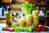Pasta of different varieties for cooking - 175316202