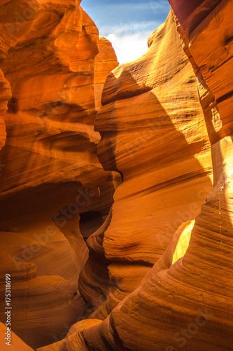 Poster Baksteen Antelope canyon, Arizona
