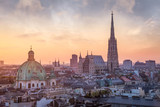 Vienna Skyline with St. Stephen's Cathedral, Vienna, Austria - 175321055