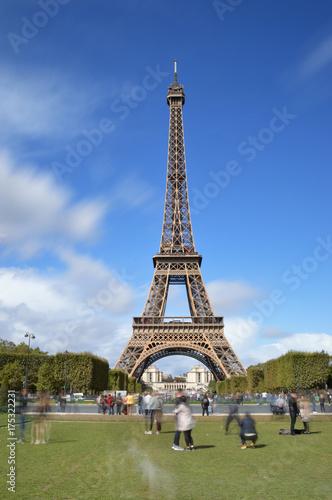 Tuinposter Eiffeltoren Tour Eiffel, Paris.