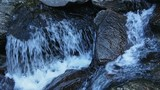Water goes with the flow in river - 175323292