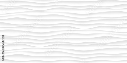 Line White texture. Gray abstract pattern surface. Wave wavy nature geometric modern. On white background. Vector illustration - 175334218