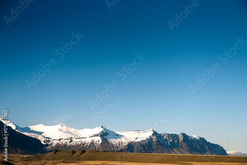 Fotobehang Zomer mountain landscape