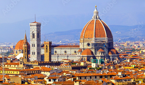 Keuken foto achterwand Florence Florence cathedral Duomo Italy