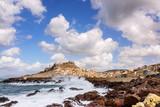 Castelsardo Stadt Sardinien Mittelmeer Sturm - 175344232