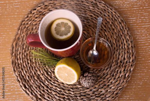 Lemon tea with honey Poster