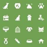 Set Of 16 Pets Icons Set.Collection Of Injection, Home, Store And Other Elements. - 175346009