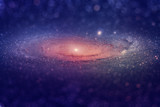 Galaxy Background Glitter Macro Photo HD Printble
