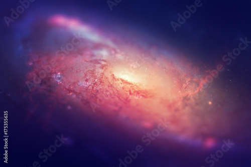 Galaxy Background Glitter Macro Photo HD Printble