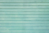 Turquoise wooden surface - 175366617