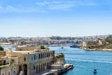 antique city building in Valletta,Malta Europe - 175368007