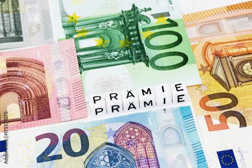 Geldprämie Poster
