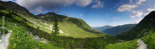 Foto op Aluminium Panoramafoto s Panorama Dolina Spalona